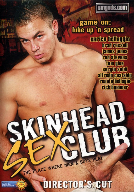 Skinhead Sex Club DVD - Front
