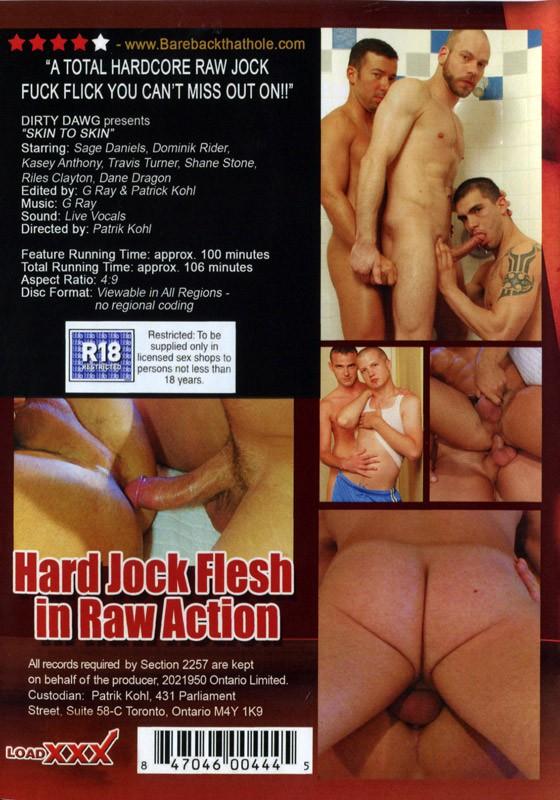 Skin to Skin DVD - Back