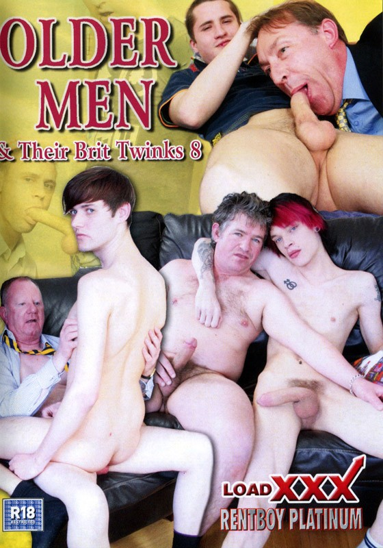 Older Men & Their Brit Twinks 8 DVD - Front
