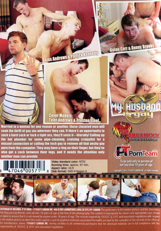 My Husband Is Gay DVD - Back