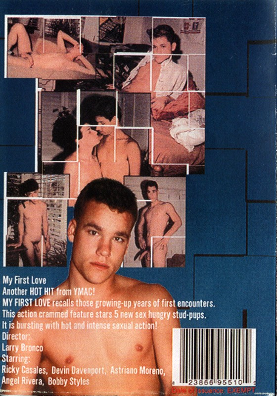 My First Love DVD - Back