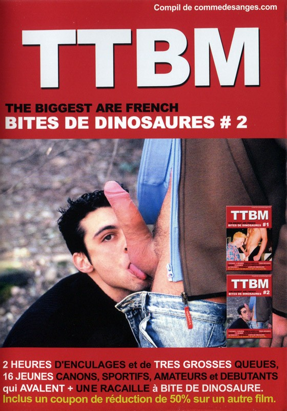 TTBM 2: French Monsters Cocks Vol 2 DVD - Front