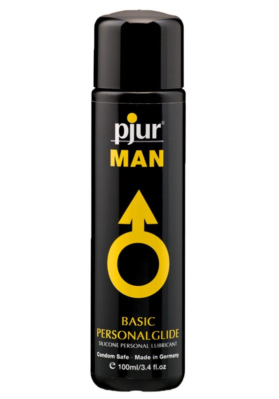 Pjur MAN Basic Personalglide Bottle 100 ml - Front
