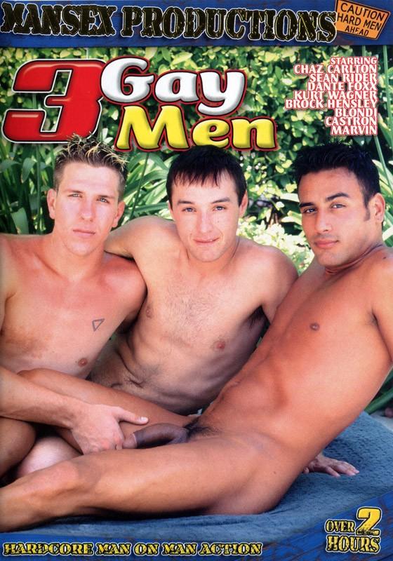 3 Gay Men DVD - Front