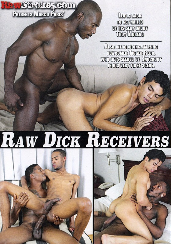 Raw Dick Receivers DVD - Front