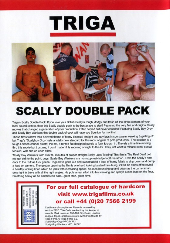 Scally Double Pack DVD - Back