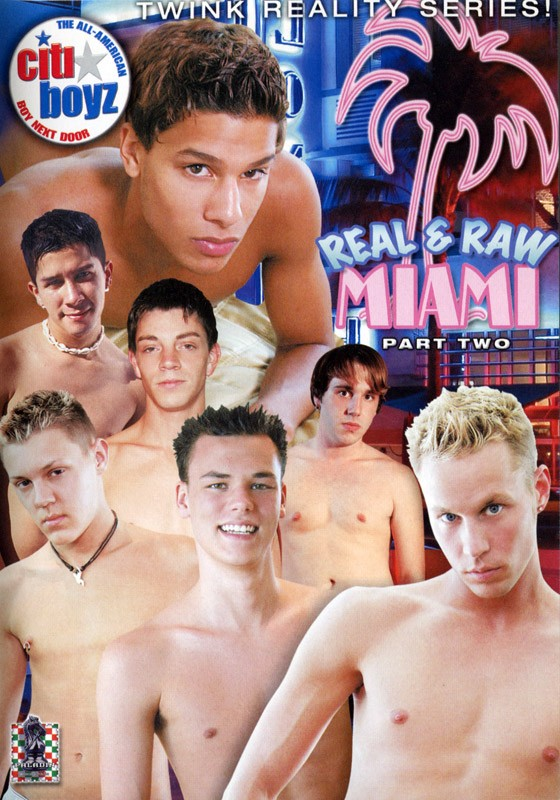Real & Raw Miami Part 2 DVD - Front