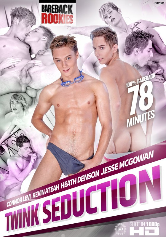 Twink Seduction DVD - Front