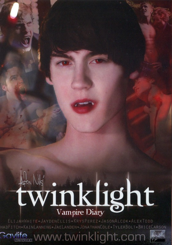 Twinklight: Vampire Diary DVD - Front