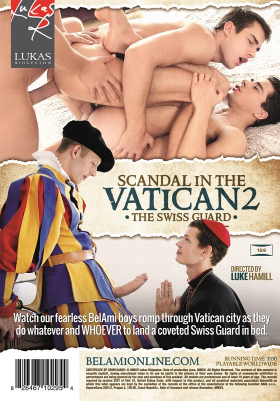 Scandal In The Vatican 2: The Swiss Guard DVD - Back