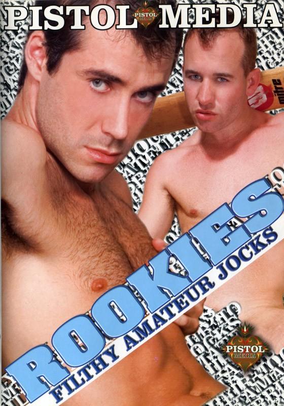 Rookies: Filthy Amateur Jocks DVD - Front