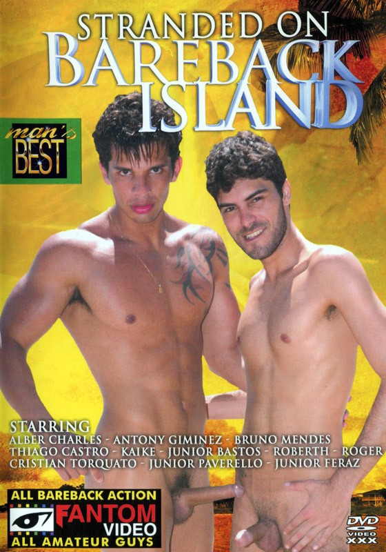 Stranded On Bareback Island DVD - Front