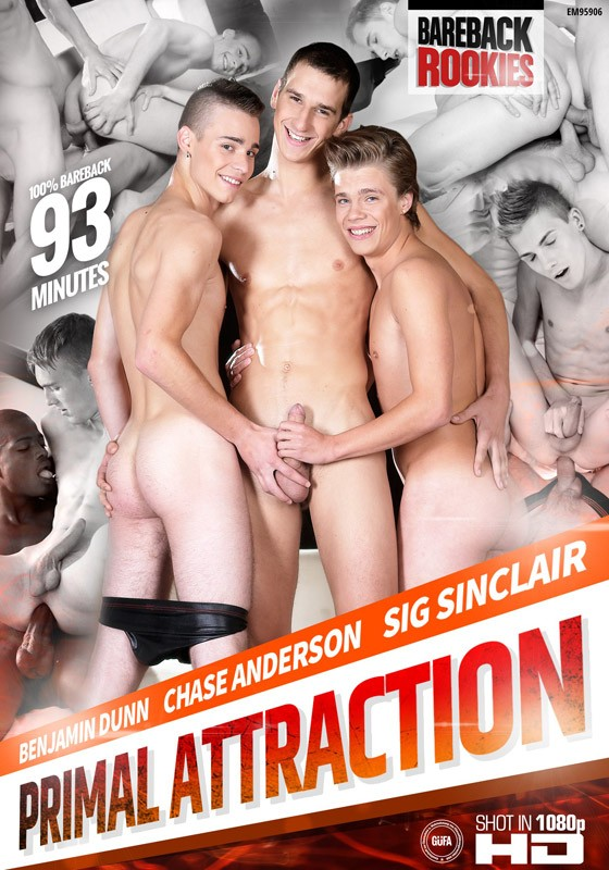 Primal Attraction DVD - Front