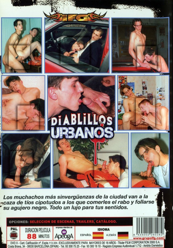 Di Albillos Urbanos DVD - Back