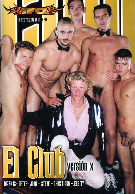 El Club version X DVD - Front