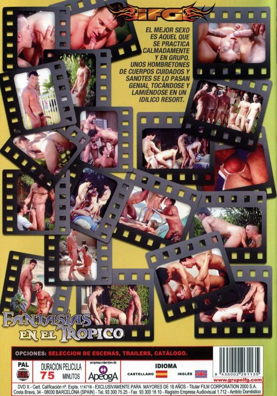Fantasias En El Tropico DVD - Back