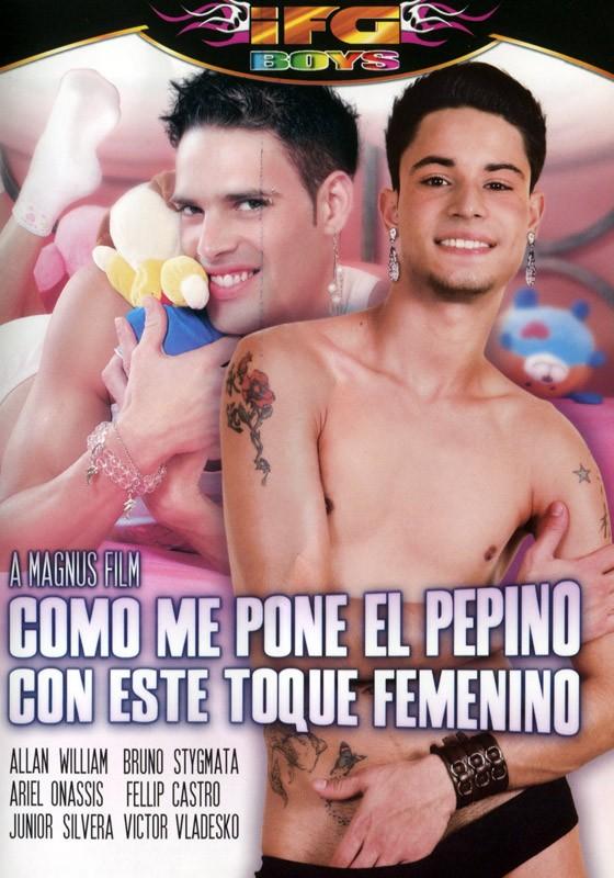 Como Me Pone El Pepino Con Este Toque Femenino DVD - Front
