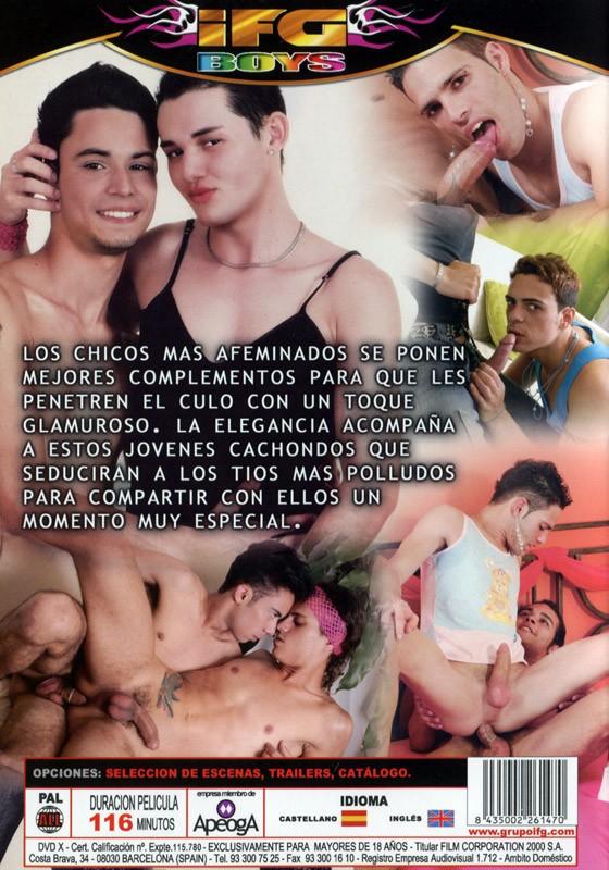 Como Me Pone El Pepino Con Este Toque Femenino DVD - Back