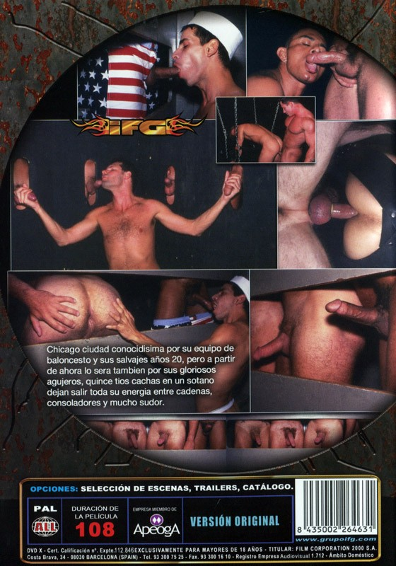 Glory Holes Of Chicago DVD - Back