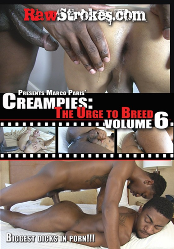 Creampies: The Urge to Breed Volume 6 DVD - Front