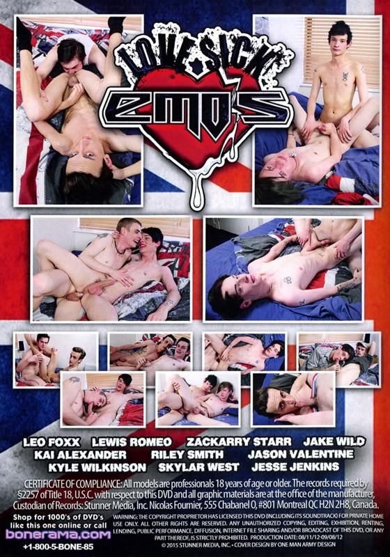 Love Sick Emos DVD - Back