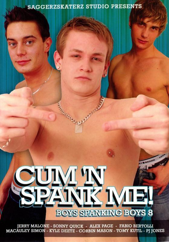 Cum 'n Spank Me! DVD - Front