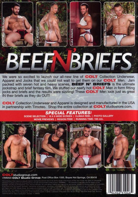 Beef'N'Briefs DVD - Back