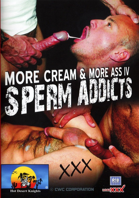 Sperm Addicts DVD - Front