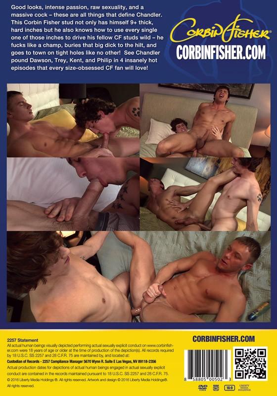 Chandler Unleashed DVD - Back