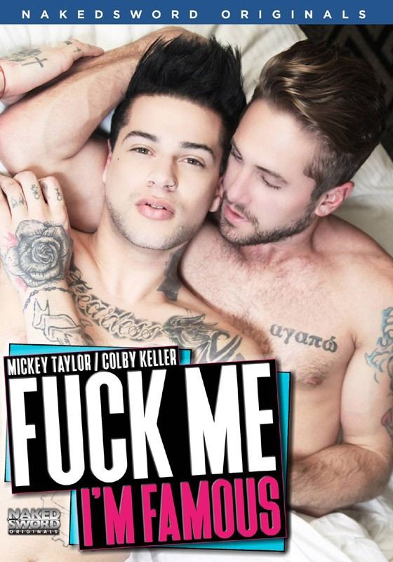 Fuck Me I'm Famous DVD - Front