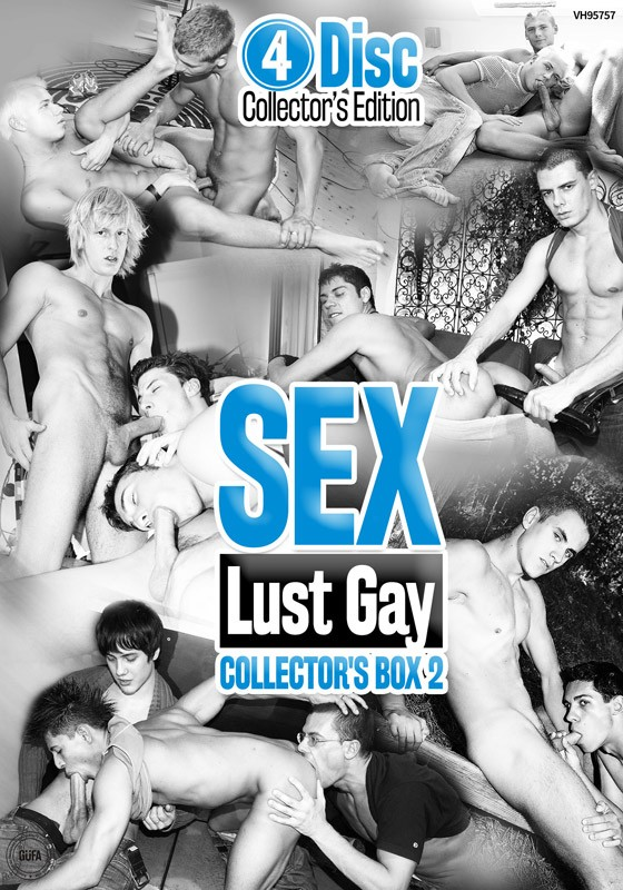 Sex Lust Gay Collector's Box 2 DVD - Front