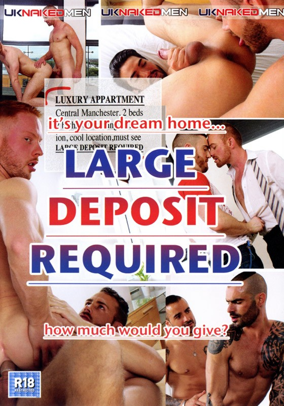 Large Deposit Required DVD - Front