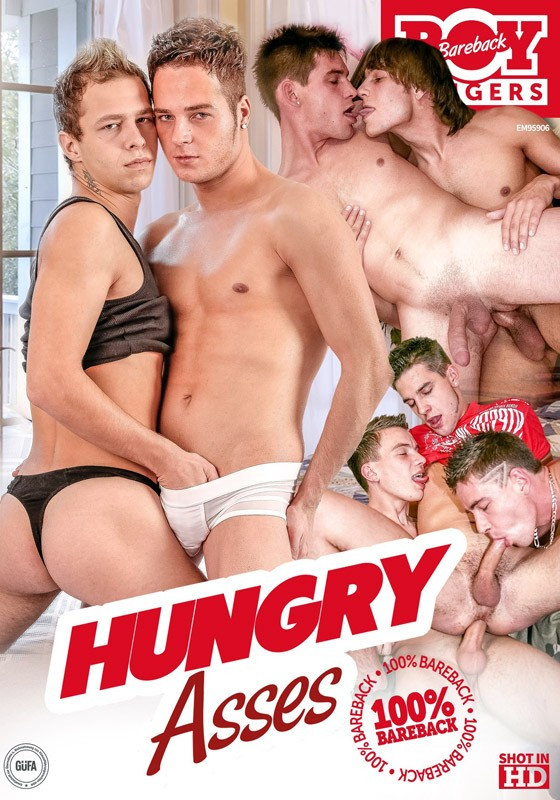 Hungry Asses DVD - Front