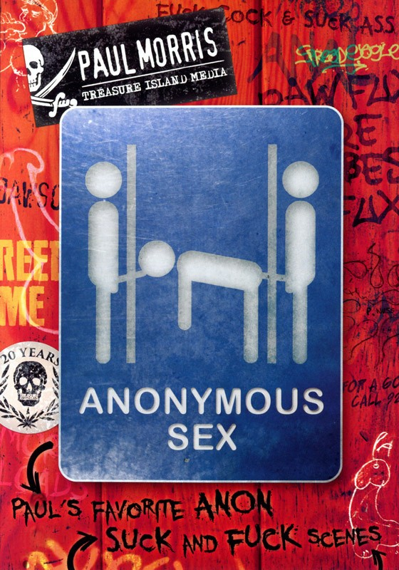 Anonymous Sex DVD - Front