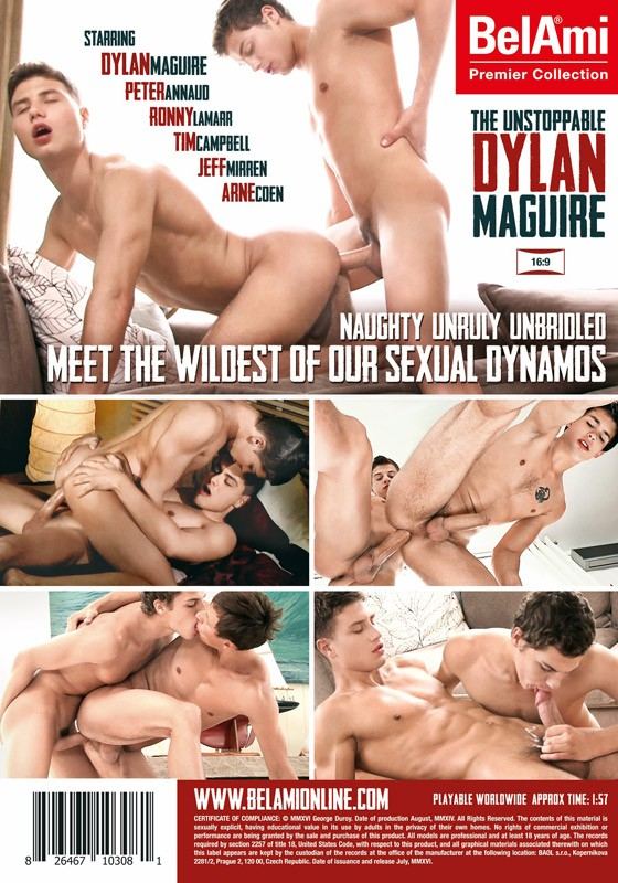 The Unstoppable Dylan Maguire DVD - Back