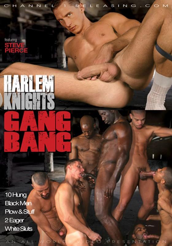 Harlem Knights Gang Bang DVD - Front
