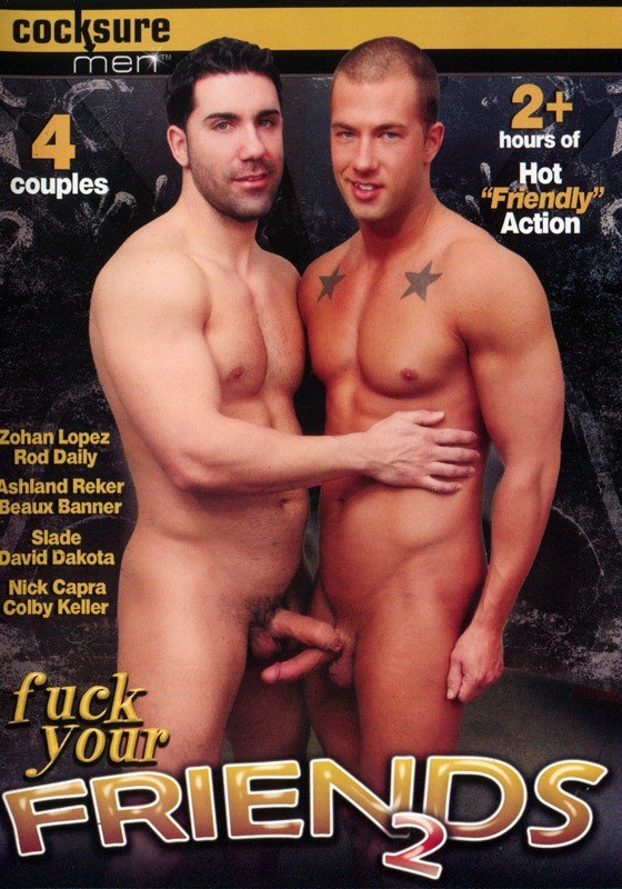 Fuck Your Friends 2 DVD - Front