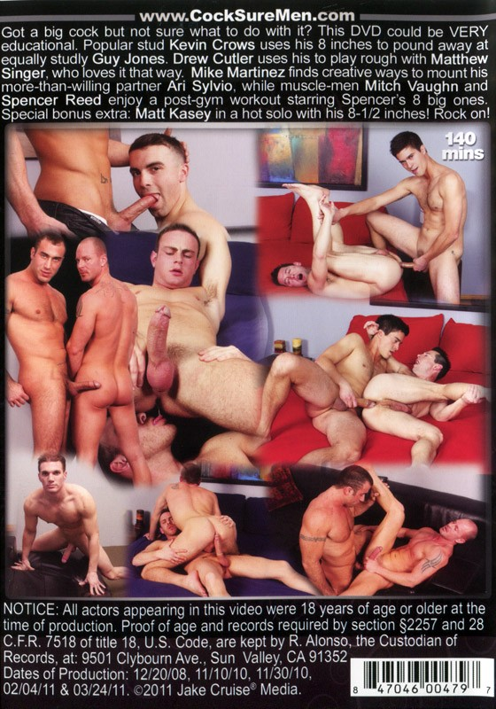 Big Cocks Rock 1 DVD - Back