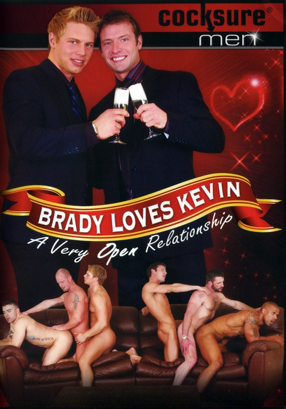 Brady Loves Kevin DVD - Front
