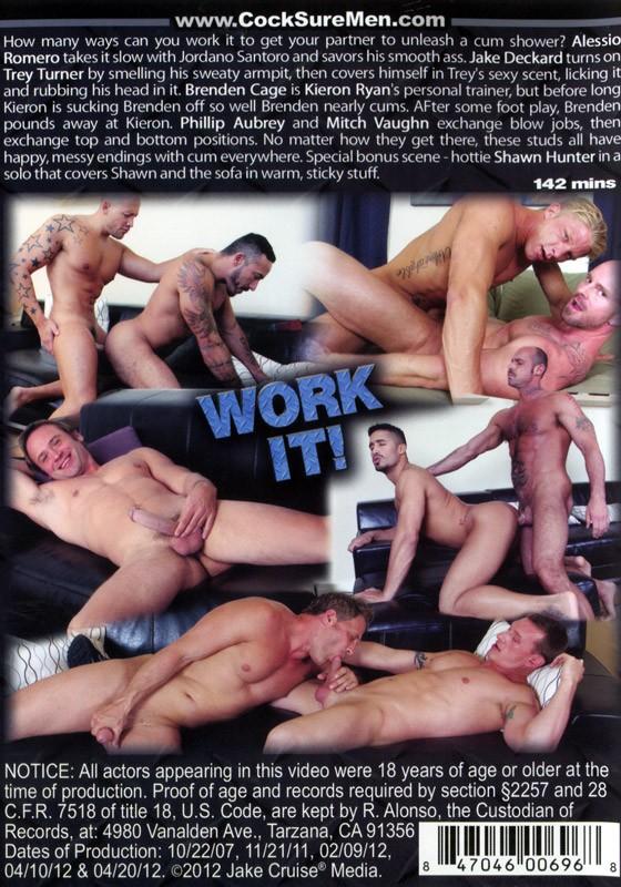 Work it! DVD - Back