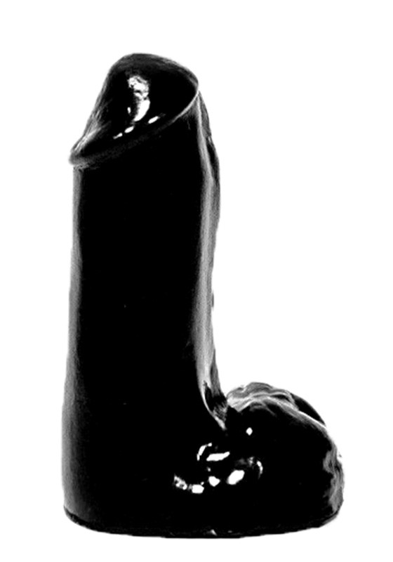 All Black AB41 Dildo - Front