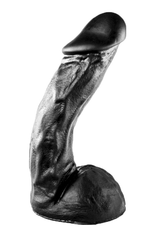 All Black - AB66 - Dildo - Front