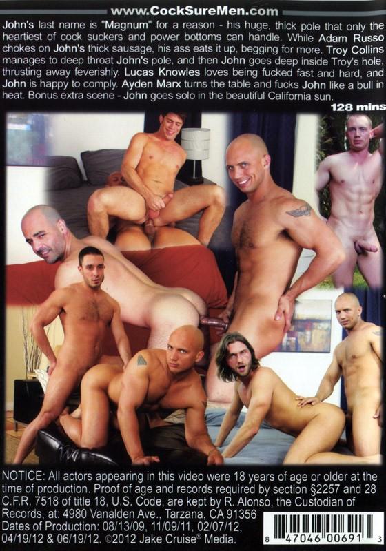 Magnum's Men DVD - Back