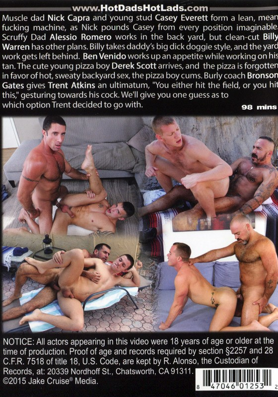 Hairy Dads Smooth Lads 3 DVD - Back