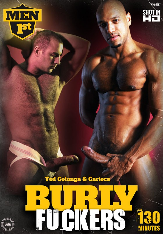 Burly Fuckers DVD - Front