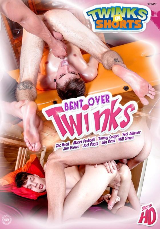 Bent Over Twinks DVD - Front