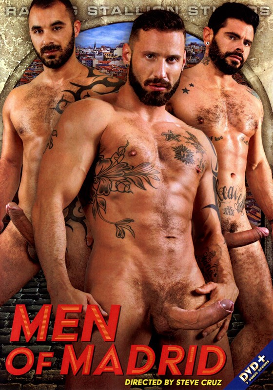 Men of Madrid DVD - Front