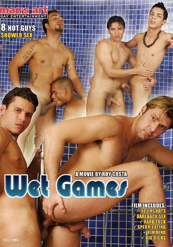 Wet Games DVD - Front