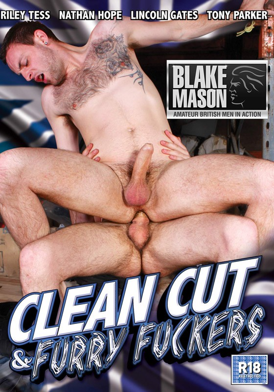 Clean Cut & Furry Fuckers DVD - Front