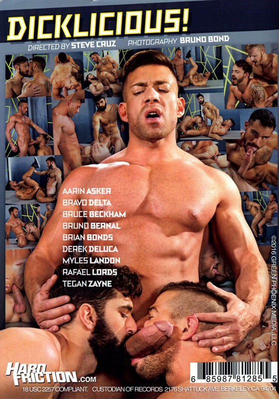 Dicklicious! (Raging Stallion) DVD - Back